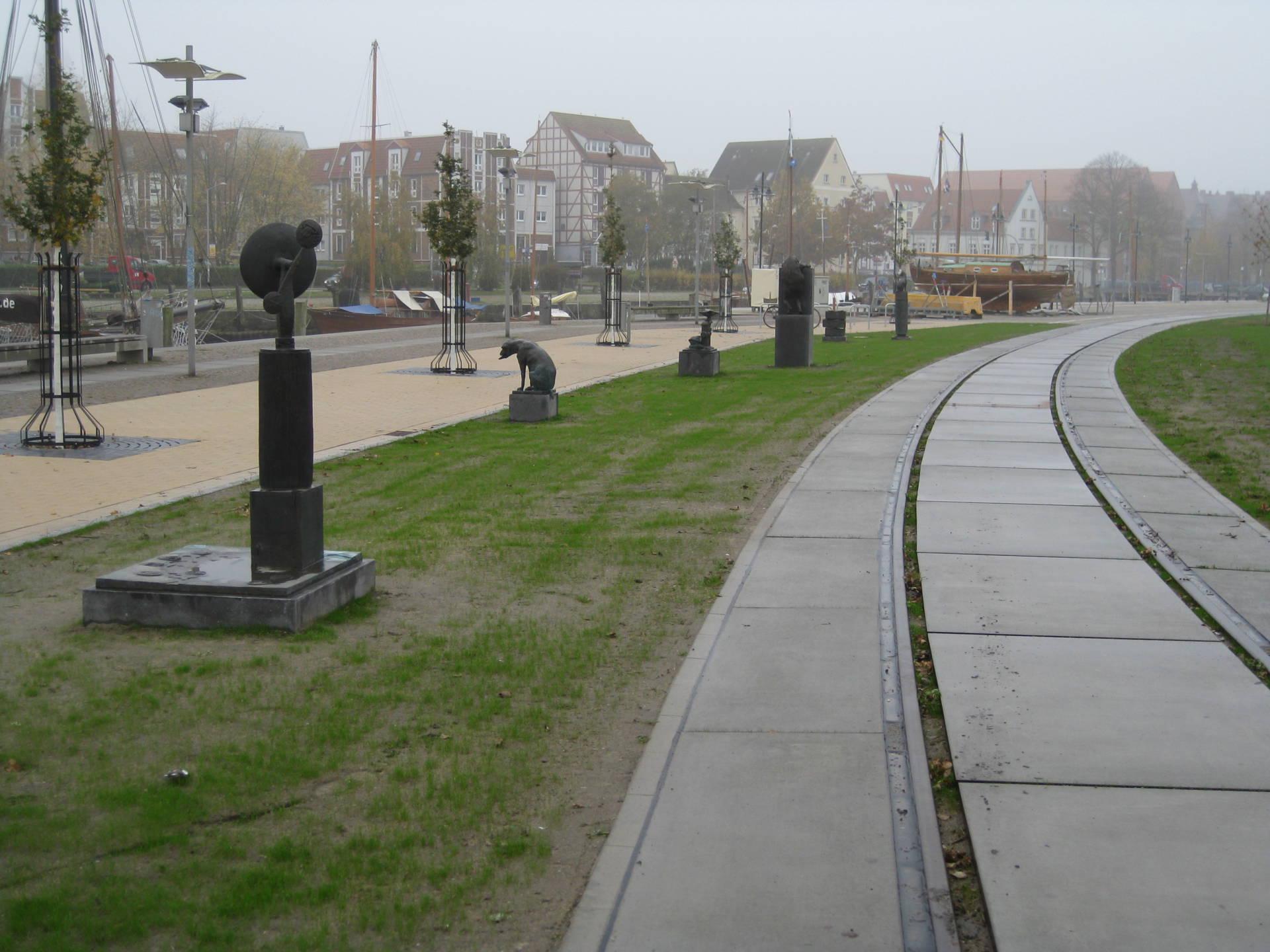Foto 3 Promenade Museumshafen Greifswald 2 3 Abschnitt