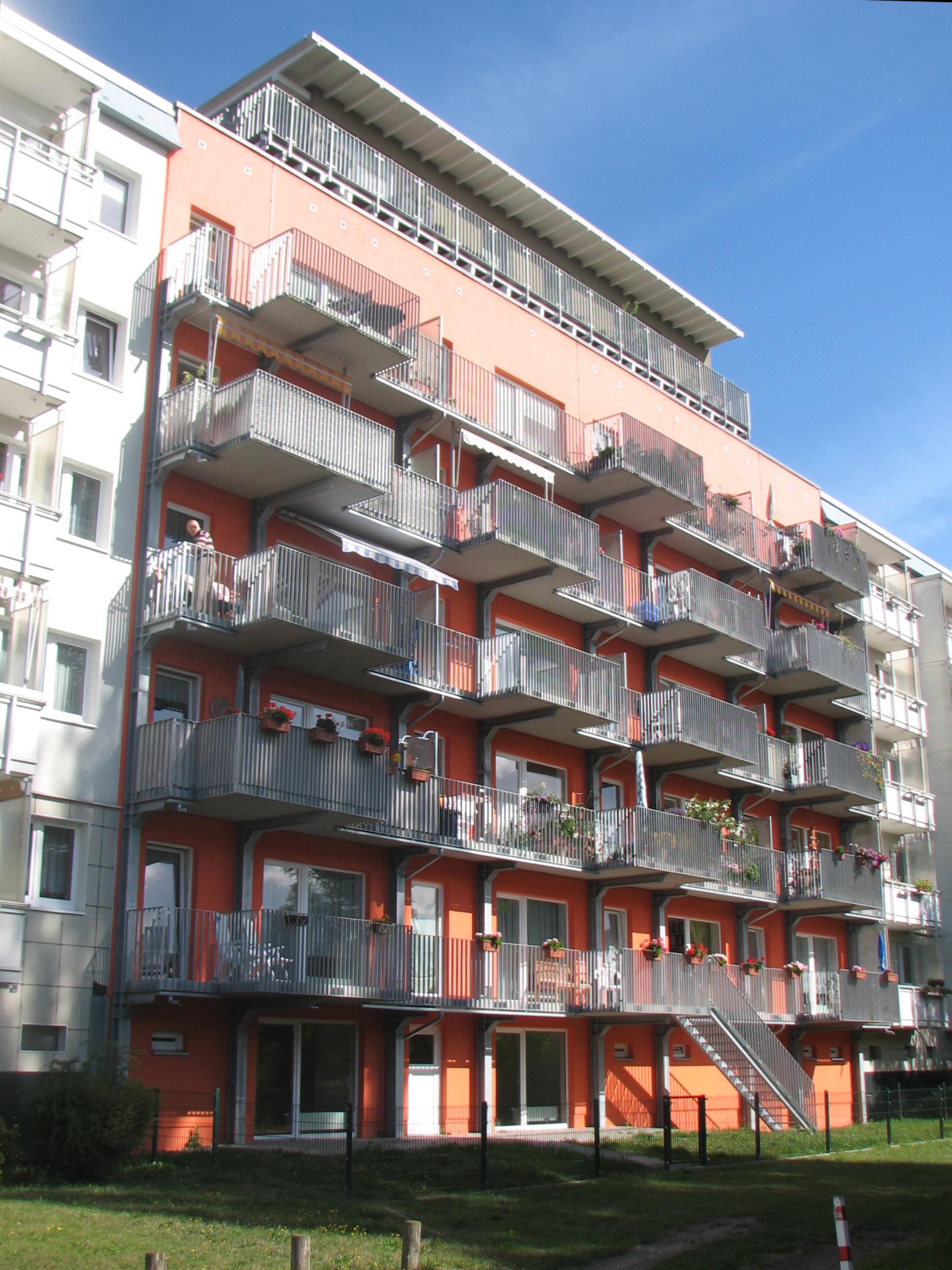 Modernisierung Mehrfamilienhaus