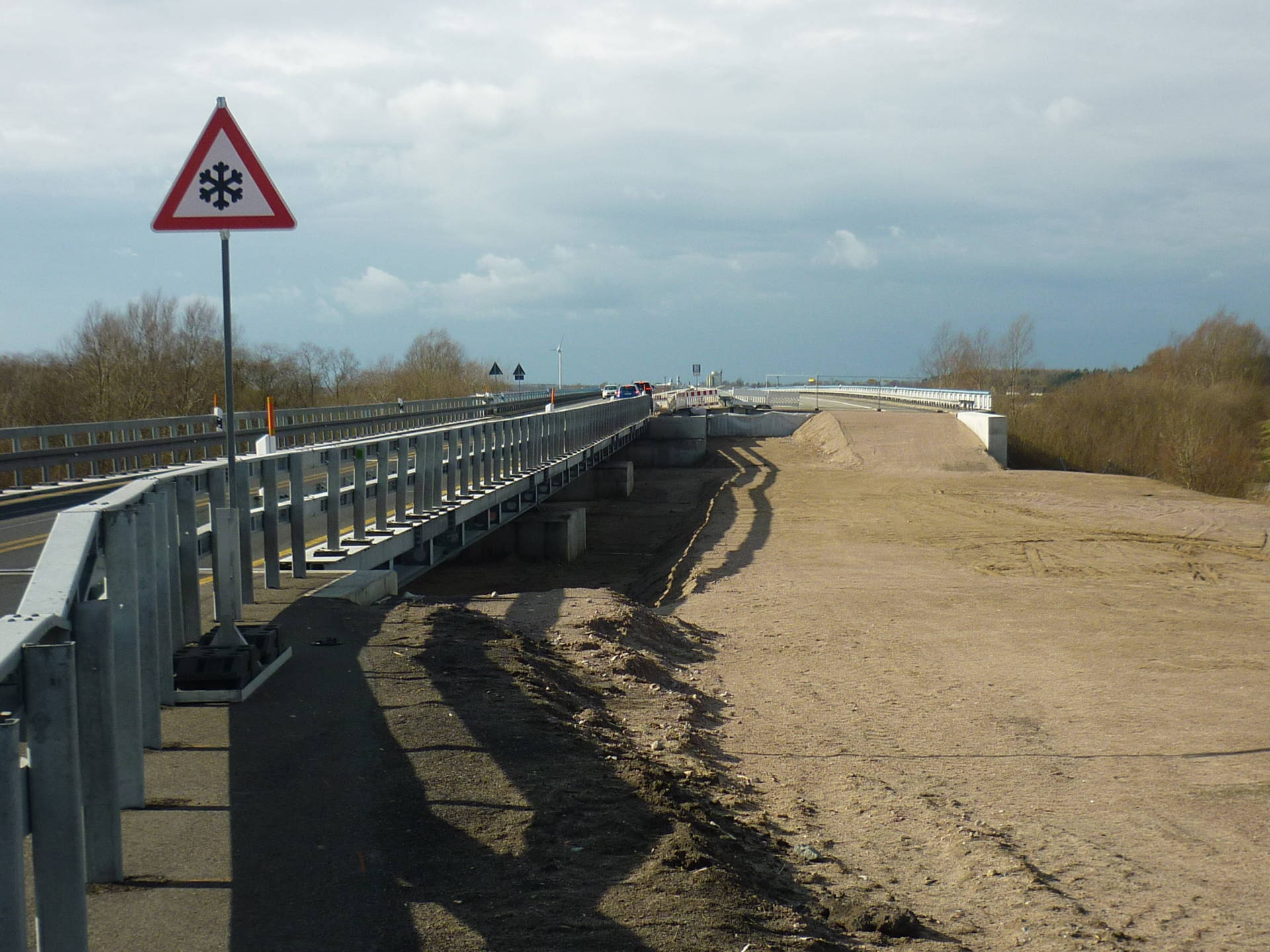 Foto BAB A20 Behelfsbrücke Ost