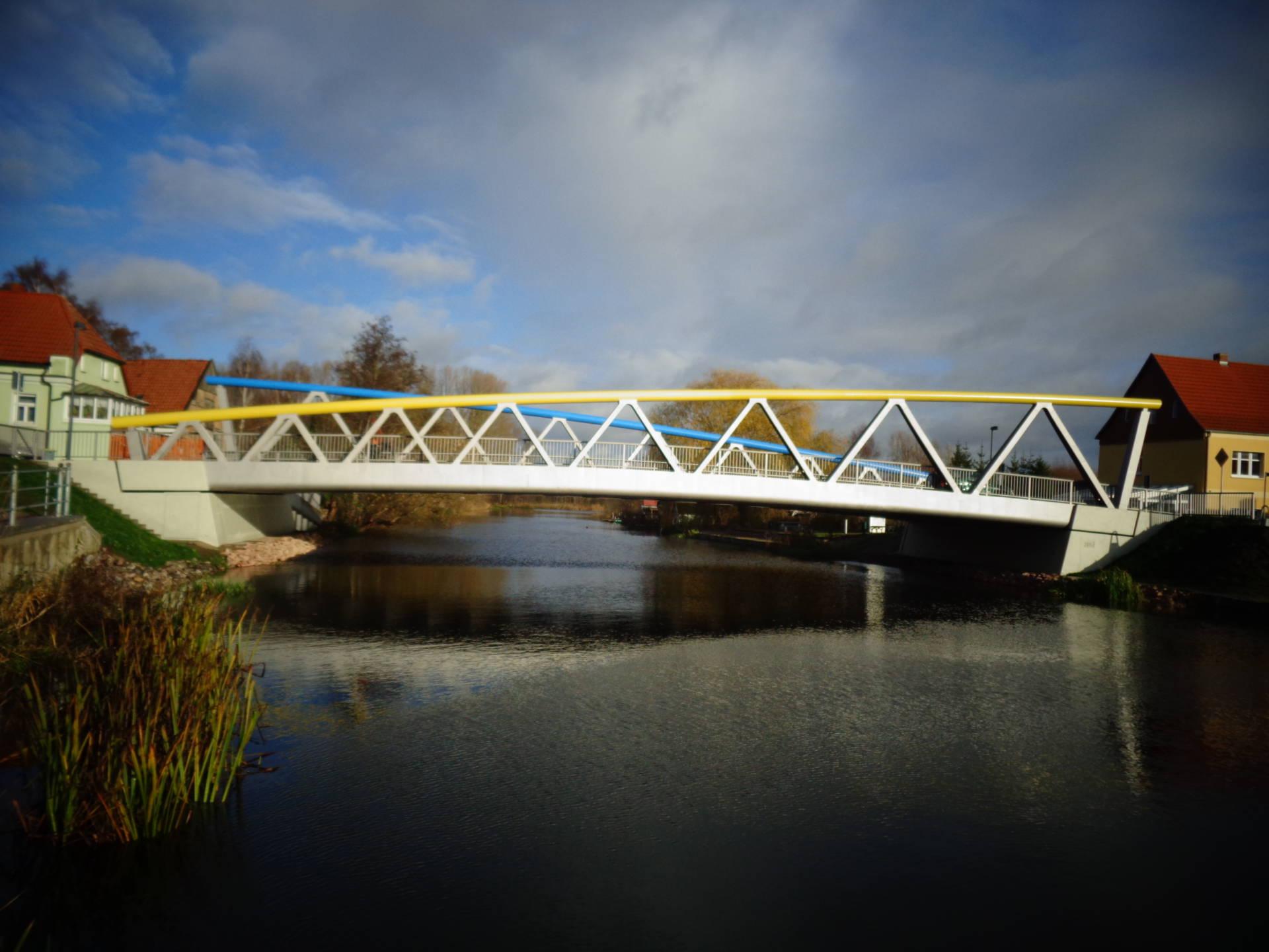 Foto Ersatzneubau Warnow Brücke Schwaan